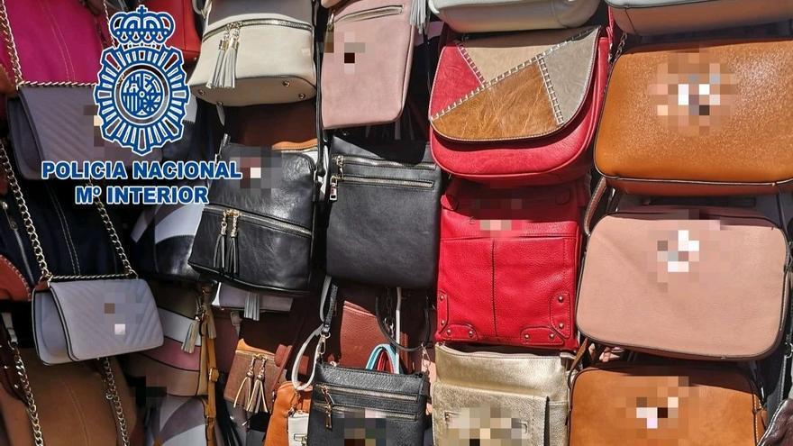 Productos falsificados incautados en Arona