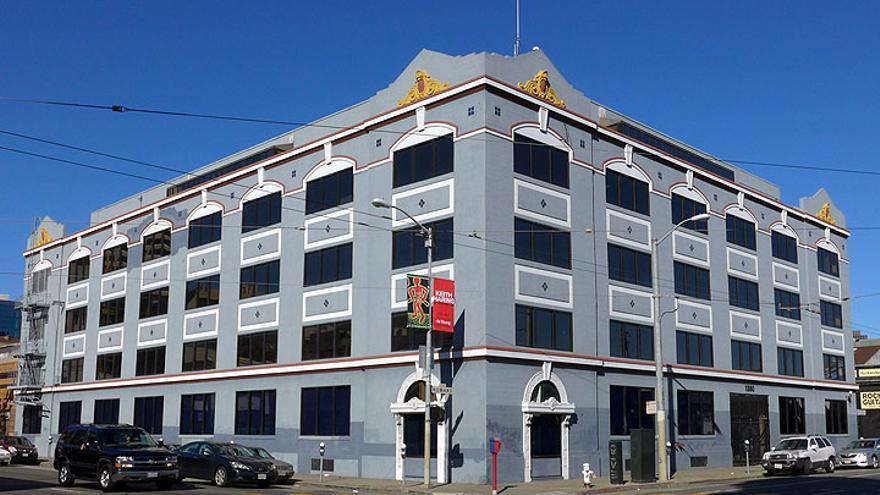 Imagen de 2017 del edificio donde estuvo alojado Project One (Imagen: Chris Carlsson | FoundSF)
