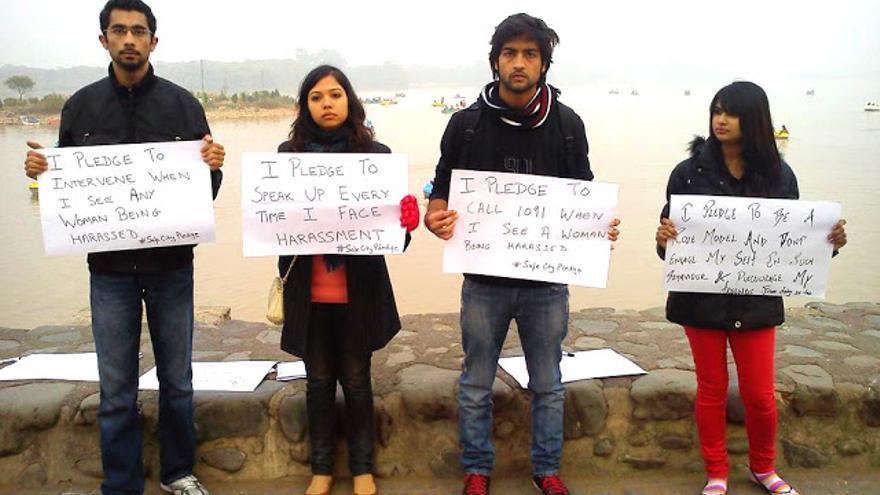 Compromisos contra la violencia contra las mujeres (http://blog.blanknoise.org/)
