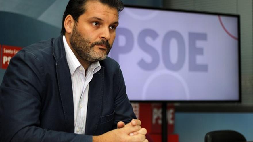 José Ángel Martín, actual portavoz del PSOE en el Ayuntamiento de Santa Cruz de Tenerife