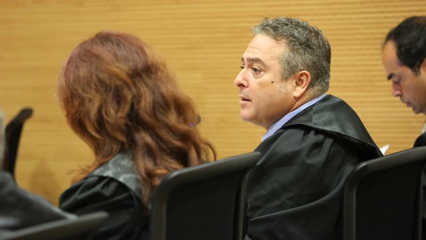 El abogado Víctor Martínez