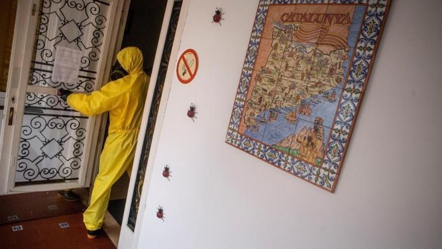 El Govern tramita 275 peticiones para desinfectar residencias de ancianos