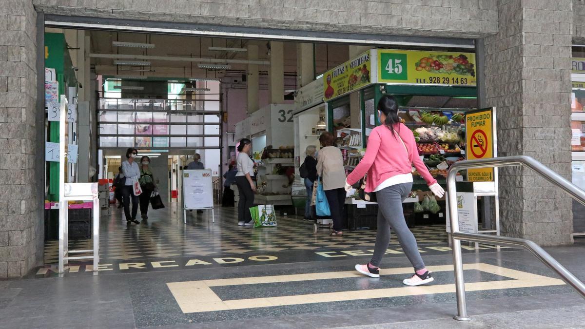 Mercado en Las Palmas de Gran Canaria.