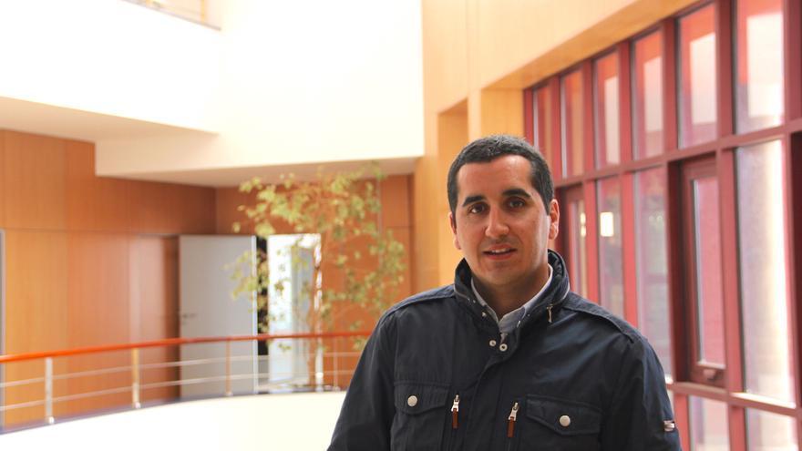 Borja Pérez en alcalde de Breña Baja.