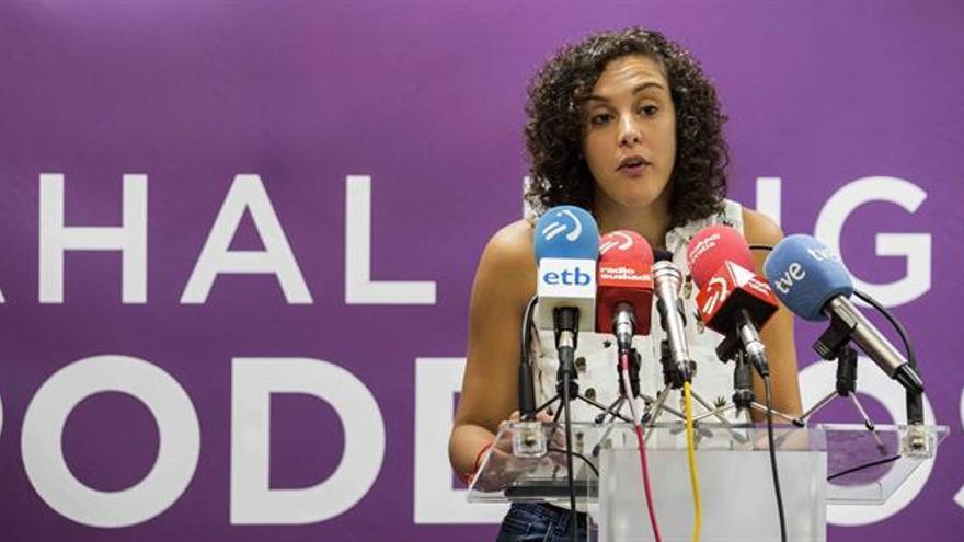 Nagua Alba abandonará la dirección de Podemos Euskadi, que se renueva este año