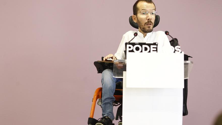 Echenique espera que la pugna para liderar Podemos en la Comunidad de Madrid se centre en el debate de proyectos