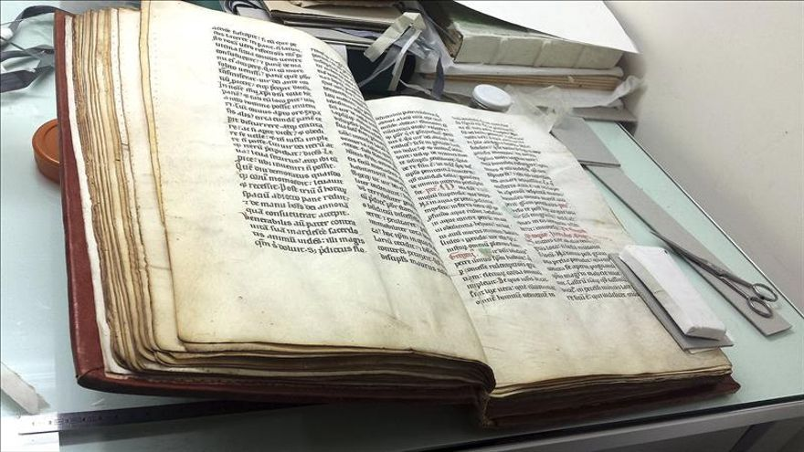 La española Núñez Gaitán preserva los tesoros de la Biblioteca Vaticana