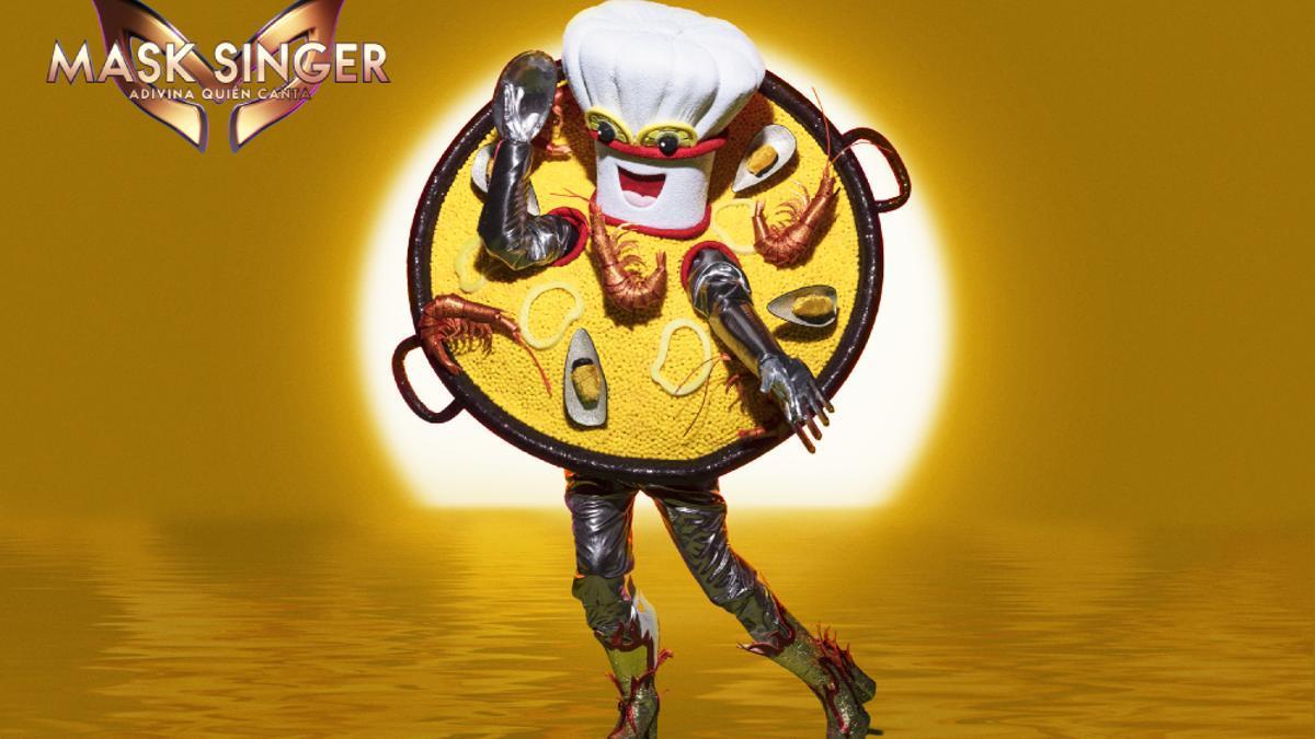 Paella, máscara invitada de 'Mask Singer'