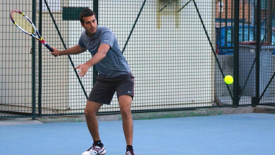 El jugador Arturo Sanluis participará en el XXVI Open Fiestas de Mayo