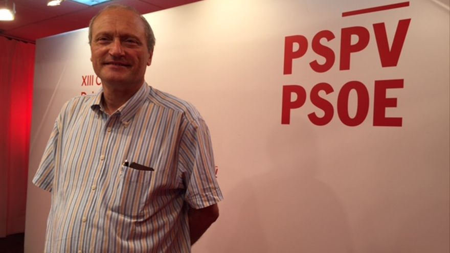 Voro Soler, concejal del PSPV-PSOE en Godella y representante de la candidatura de Rafa García en las primarias del PSPV-PSOE.