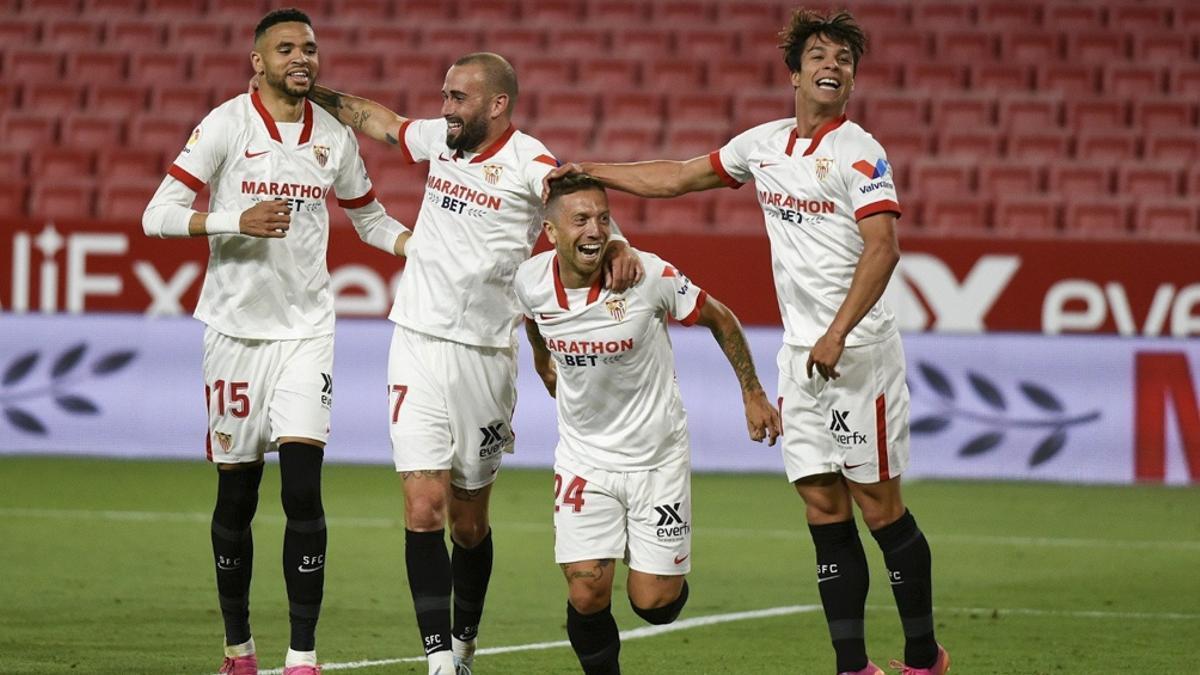 El Sevilla del Papu Gómez debuta en la Champions League.