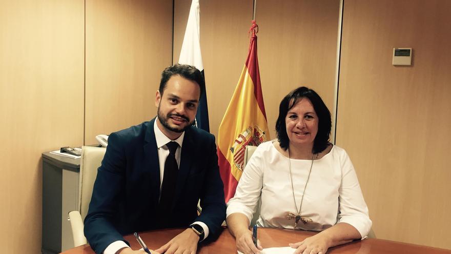 Jordi Pérez y Soledad Monzón.