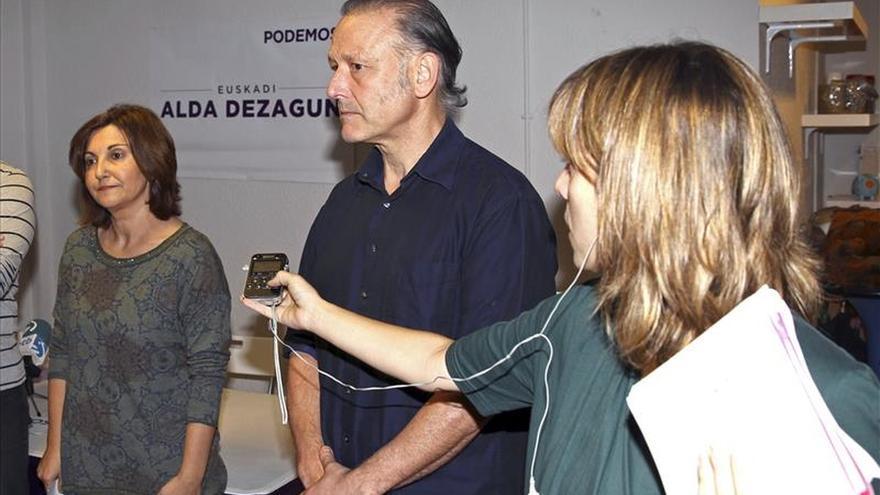 Dimite el secretario general de Podemos Euskadi, Roberto Uriarte