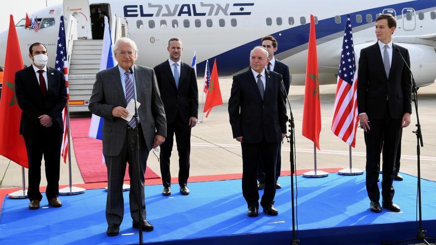 Parte el primer vuelo comercial directo entre Israel y Marruecos