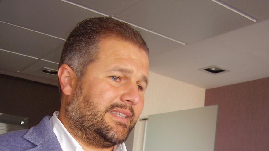 El presidente de la Asociación de Adjudicatarios del Concurso Eólico de Canarias, Claudio Palmés.