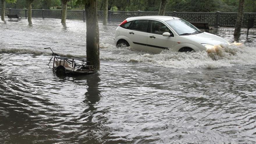 El Consorcio protege ya a todos los coches asegurados en caso de catástrofe