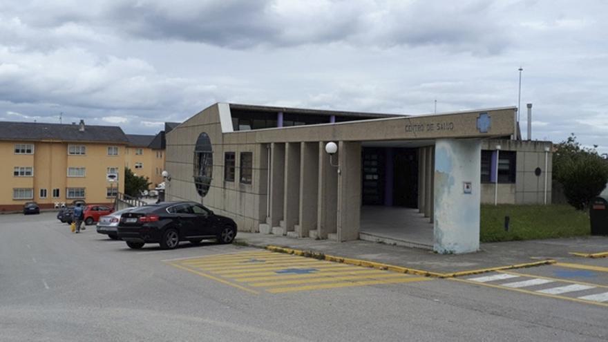 Centro de salud de Barreiros, en la costa de la provincia de Lugo