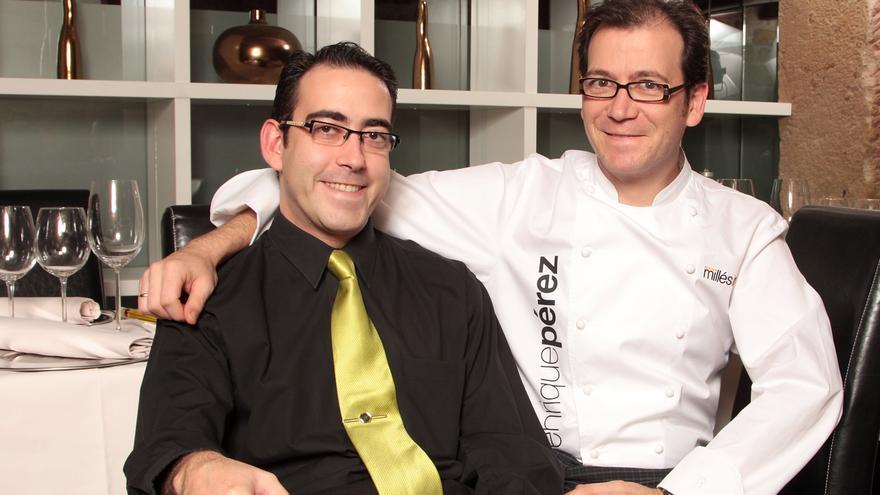 Enrique y Eduardo Pérez, propietarios de El Doncel