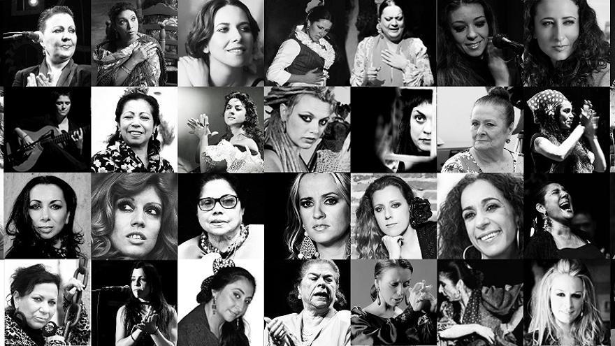 'Flamencas: Mujeres, fuerza y duende' recoge 60 biografías para retratar la evolución femenina en la música y danza de base gitana