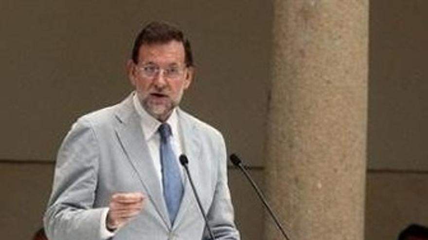 Mariano Rajoy Durante Su Intervención