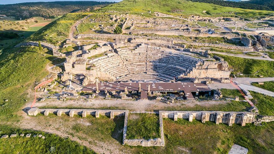 Teatro- Segóbriga FOTO: Gobierno Castilla-La Mancha