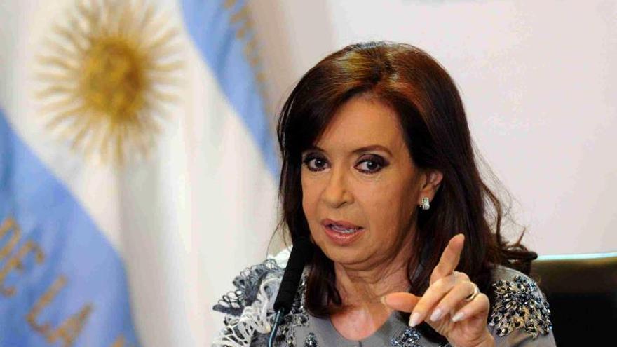 En la imagen la expresidenta Argentina Cristina Fernández (2007-2015).