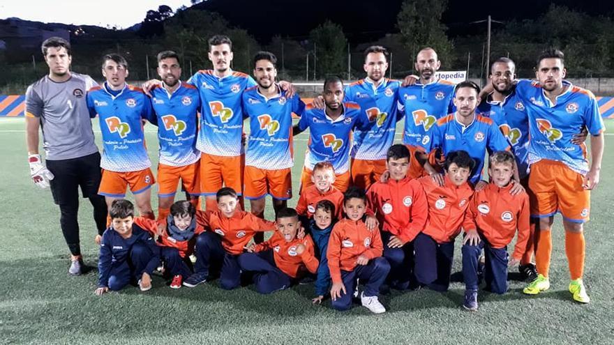 Formación del San Mateo, equipo de Samuel Saavedra