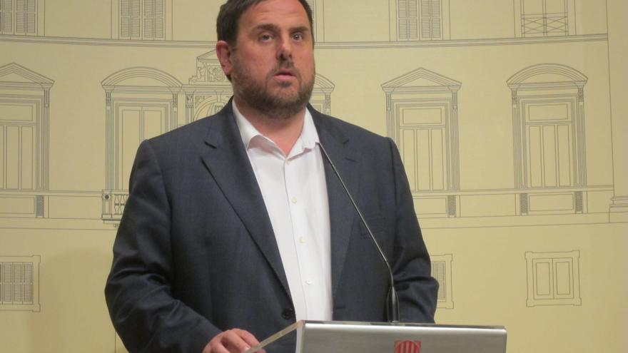"""Junqueras (ERC) amenaza con """"parar la economía catalana"""" para presionar a favor de la consulta"""