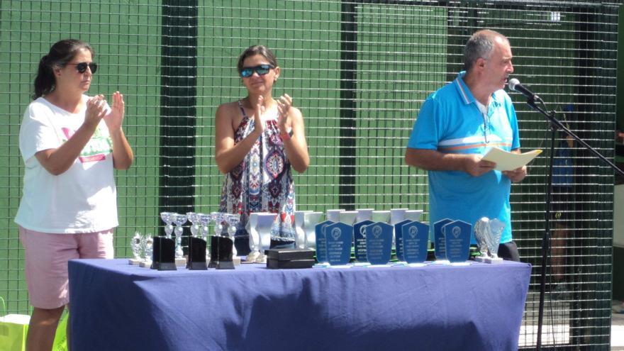 Imagen del acto de clausura del torneo el pasado sábado.