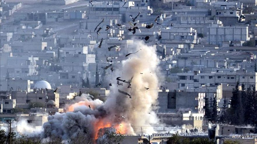 La coalición internacional lanza 20 ataques aéreos contra el EI en Siria e Irak