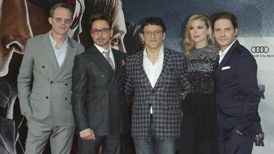 """""""Captain America: Civil War"""" monopoliza los estrenos de cine en EE.UU."""