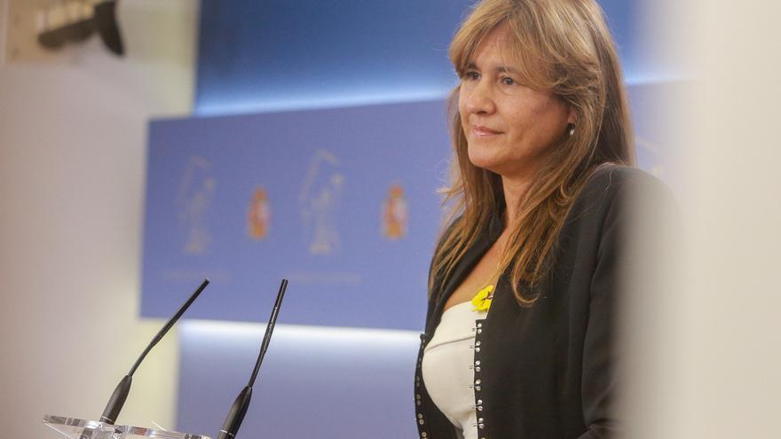 """Borràs (JxCat) no ve a los investigados en el 1-O en la lista electoral pero """"decidirán ellos"""""""