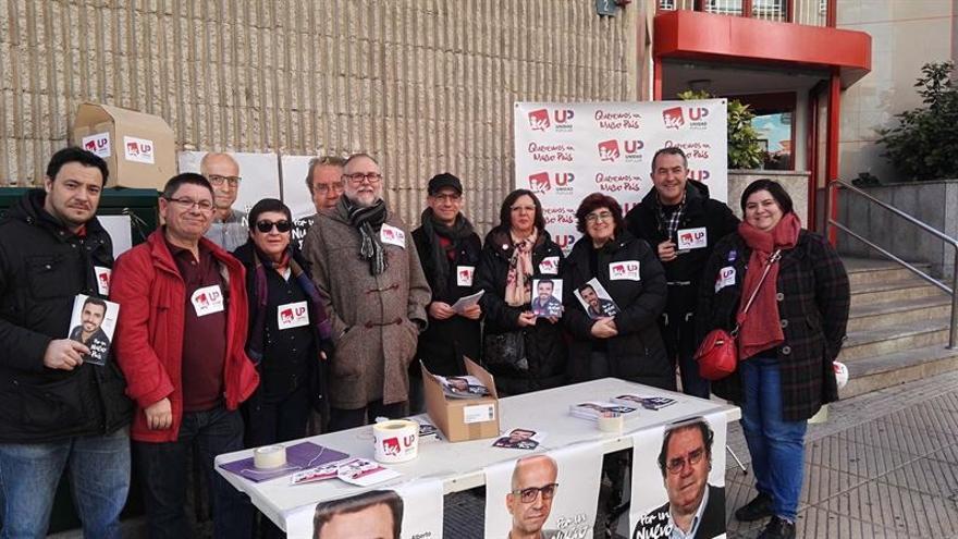 Acto de IU-UP en Albacete