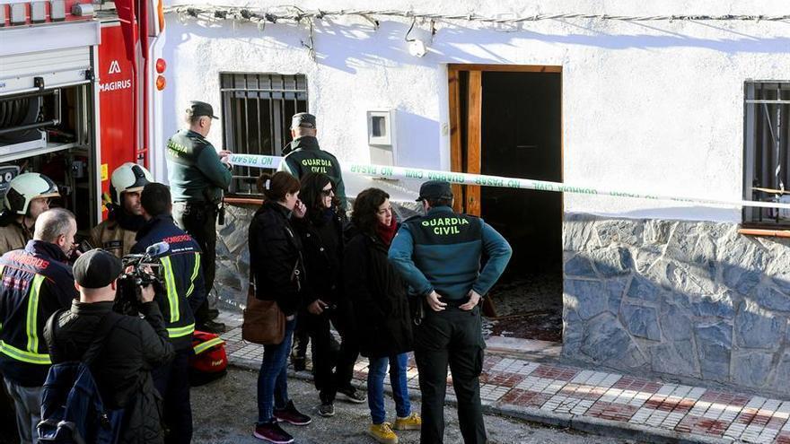Un brasero, posible origen del fuego que ha causado tres muertos en Granada
