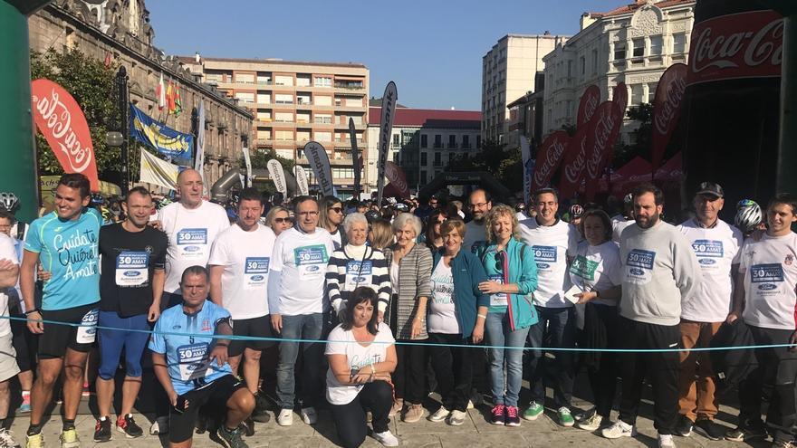 Más de 5.500 personas participan en la XXX Marcha Popular AMAT, que consigue su récord histórico