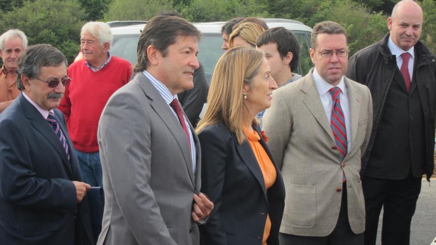 La Variante de Pajares del AVE a Asturias, ejecutada al 98%, según la ministra de Fomento