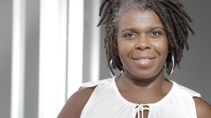 Silvia Albert, actriz y activista contra el racismo