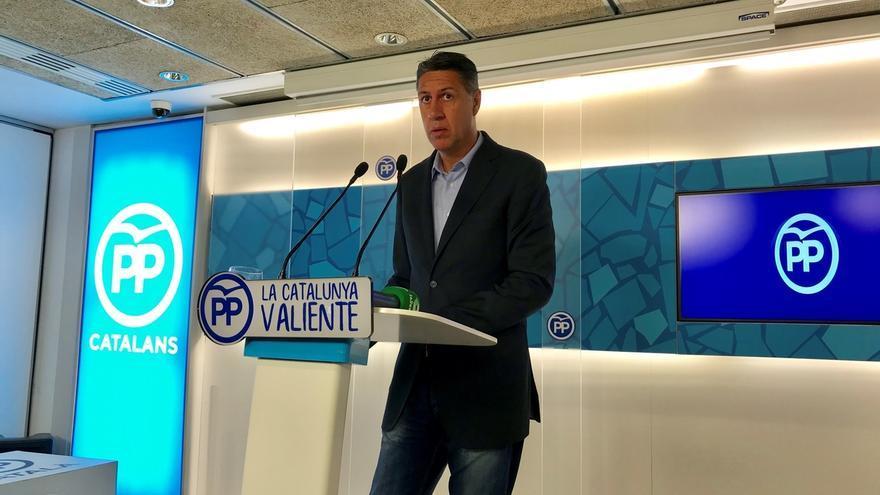"""Albiol dice que le sorprende """"la fascinación del PSC por gobernar con independentistas"""""""