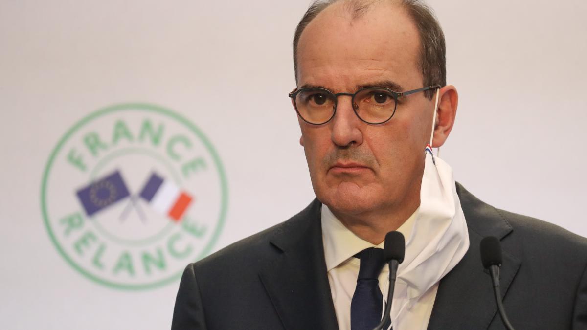 En la imagen, el primer ministro, Jean Castex. EFE/EPA/LUDOVIC MARIN /Archivo