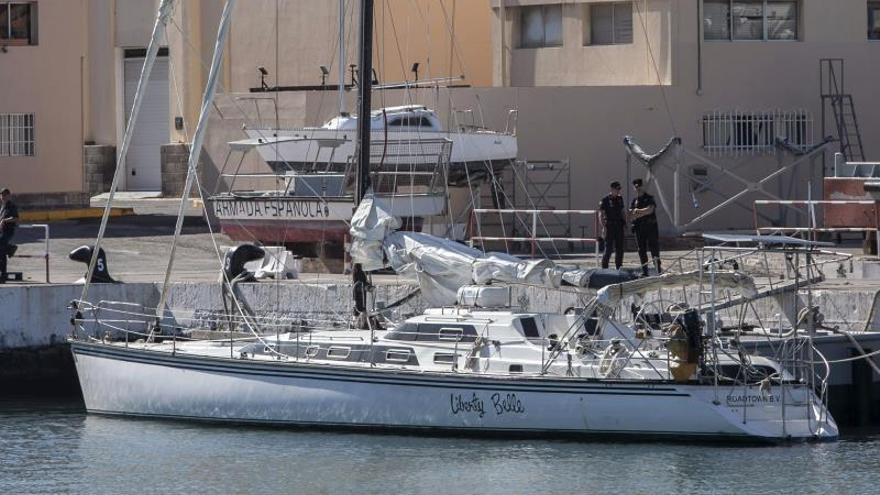 El puerto de Las Palmas subasta un narcovelero requisado en el Atlántico