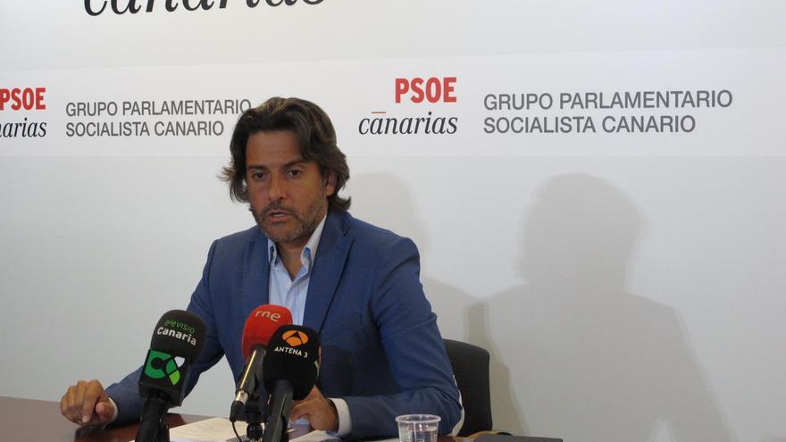 Gustavo Matos, portavoz de Industria y Energía del Grupo Parlamentario Socialista.