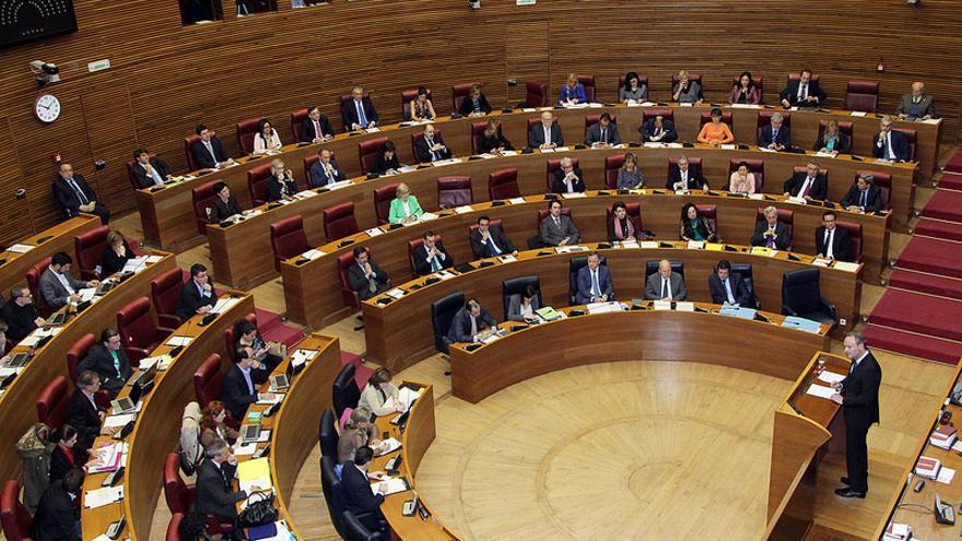 El president de la Generalitat, Alberto Fabra, comparece en Les Corts Valencianes