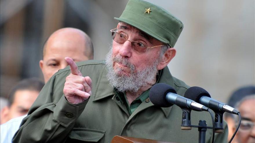 Fidel Castro en una imagen de archivo / FOTO: EFE