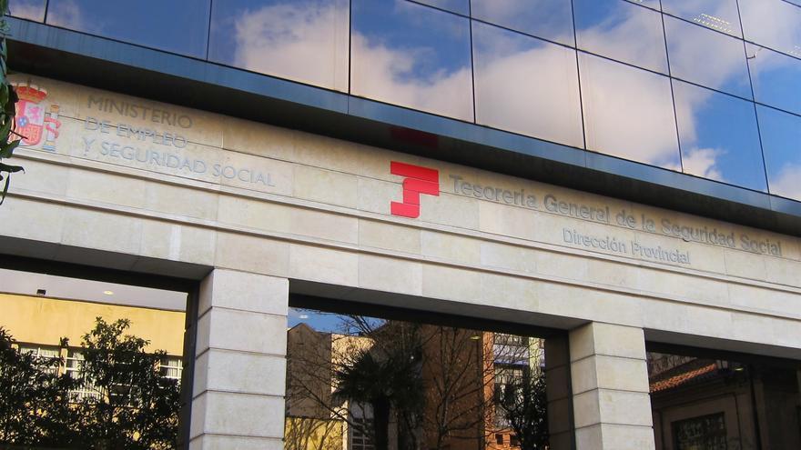 Una sede oficial de la Seguridad Social, en una imagen de archivo