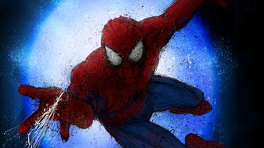 Cartel del musical de Spiderman