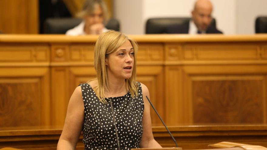 Carmen Picazo en las Cortes de Castilla-La Mancha