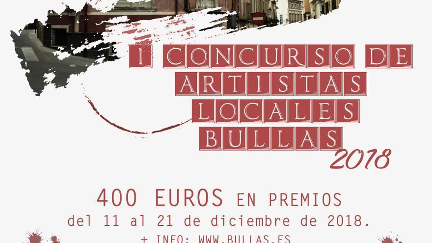 Bullas celebra el primer concurso de artistas locales