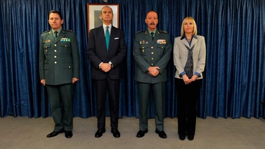 El director de la Guardia Civil nombra al teniente general Pablo Martín Alonso como nuevo director adjunto operativo