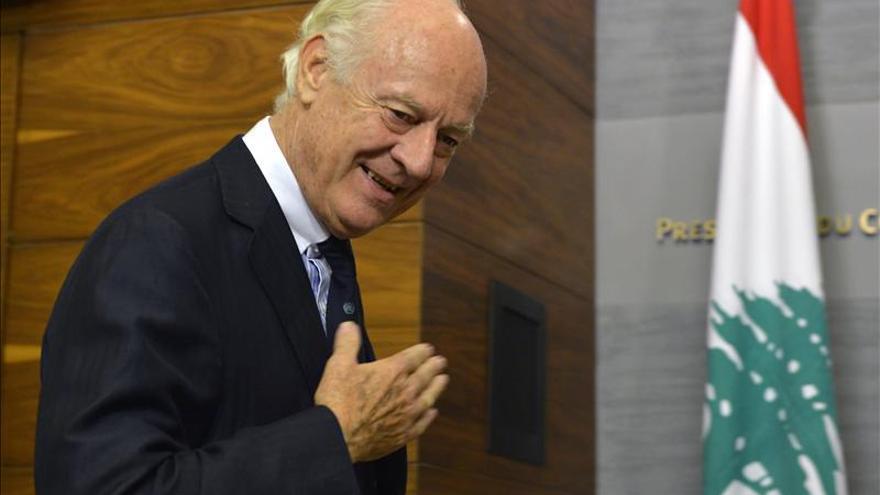 El enviado de la ONU llega a Siria, donde se espera que se entreviste con Al Asad