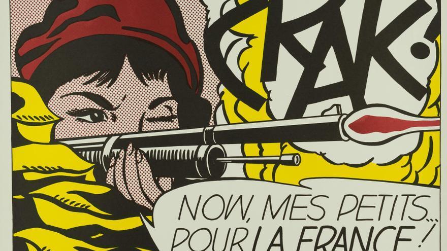 CRAK!, 1963 © Estate of Roy Lichtenstein, VEGAP, Madrid, 2018